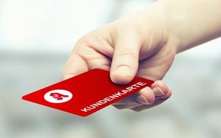 Nutzen Sie die Vorteile einer persönlichen Kundenkarte